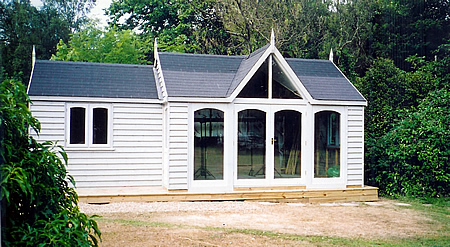 Timber Buildings Garages Timber Garden Rooms Hampshire